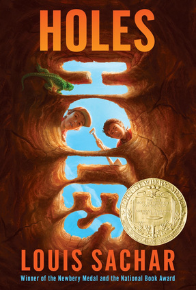 Image result for holes by louis sachar   awards